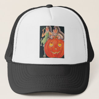 Vintage Halloween Costume Party Trucker Hat