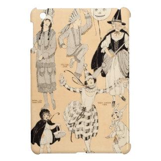 Vintage Halloween Costumes Children Adult Witch iPad Mini Case