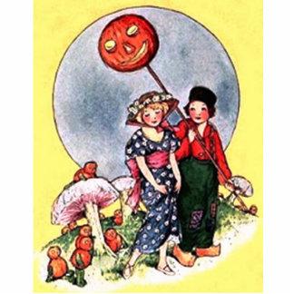 Vintage Halloween Cutout