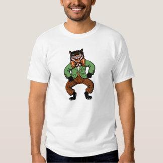 Vintage Halloween Dancing Cat Shirt