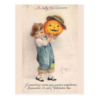 Vintage Halloween del KRW Postales