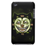 Vintage Halloween del reloj del gato negro 13 iPod Touch Carcasas