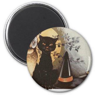 Vintage Halloween Design Magnet