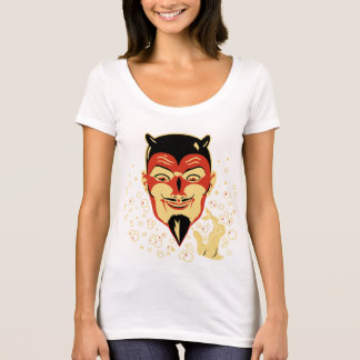 Vintage Halloween Devil Head #2 T-Shirt