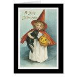 Vintage Halloween Felicitaciones