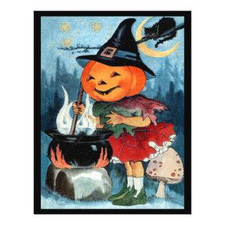 Vintage Halloween Flyer