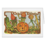Vintage Halloween Greeting Card - Merry Halloween!