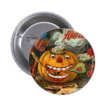 Vintage Halloween Greeting Cards Classic Posters Buttons