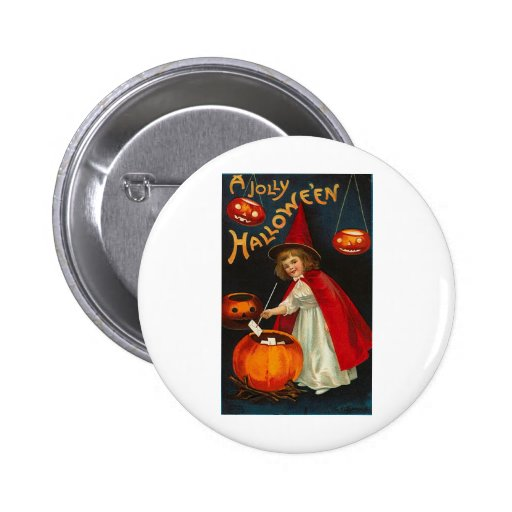 Vintage Halloween Greeting Cards Classic Posters Pin
