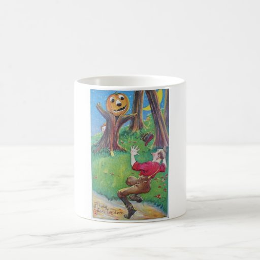 Vintage Halloween Greeting Cards Classic Posters Mug