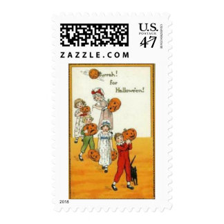 Vintage Halloween Greeting Cards Classic Posters Postage