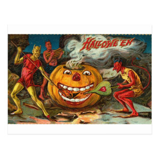 Vintage Halloween Greeting Cards Classic Posters Post Cards