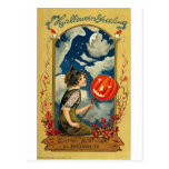 Vintage Halloween Greeting Cards Classic Posters Postcard