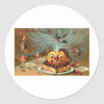Vintage Halloween Greeting Cards Classic Posters Stickers