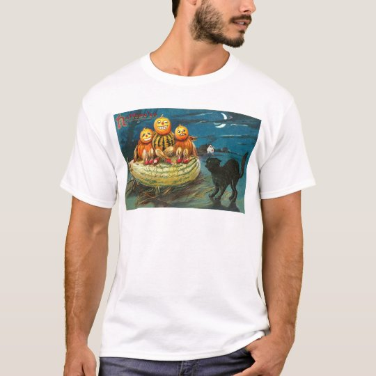 Vintage Halloween Greeting Cards Classic Posters T-Shirt