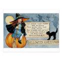 Vintage Halloween Greetings Post Cards