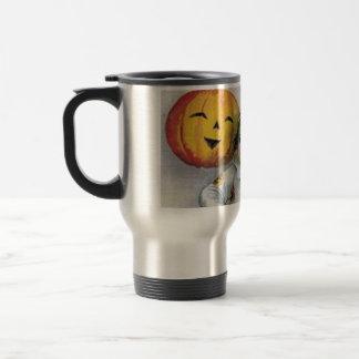 Vintage Halloween Greetings Travel Mug