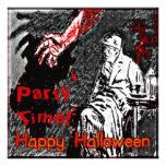 Vintage Halloween Hand in the Dark Custom Invitations