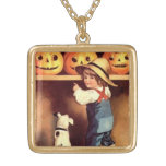 Vintage Halloween Holiday necklace
