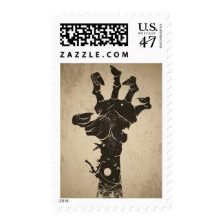 Vintage Halloween Icon - Zombie Hand Postage