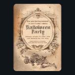 """Vintage Halloween Invitation Victorian Gothic<br><div class=""""desc"""">Vintage Halloween Invitation Victorian Gothic</div>"""