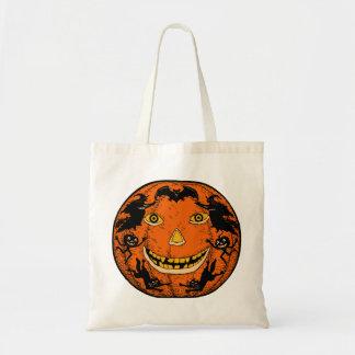 Vintage Halloween Jack O'Lantern Bag