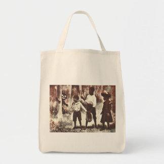Vintage Halloween Jack o'Lantern Man Tote Bag