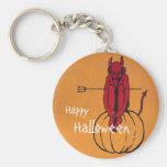 Vintage Halloween Key Chains
