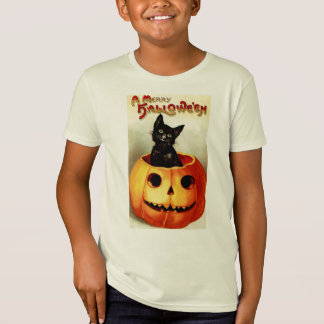 Vintage Halloween Kids Organic Shirt