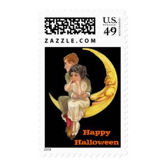 Vintage Halloween Large Postage