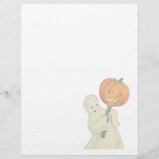 Vintage Halloween Letterhead Stationery