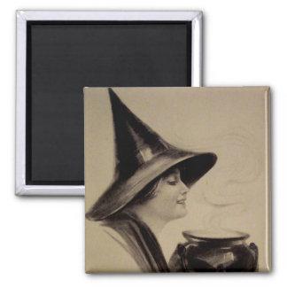 Vintage Halloween Magnet