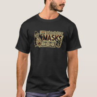 Vintage Halloween Mask Ad T-Shirt