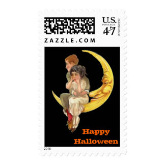 Vintage Halloween Medium Postage