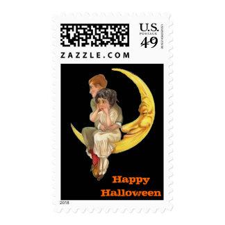 Vintage Halloween Medium Postage