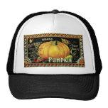 Vintage Halloween Mesh Hat