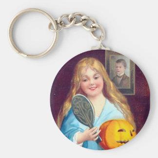 Vintage Halloween - Mirror Stranger Keychain