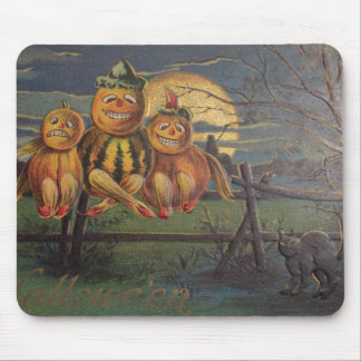 Vintage Halloween - Mouse Pad