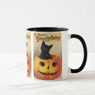 Vintage Halloween mug