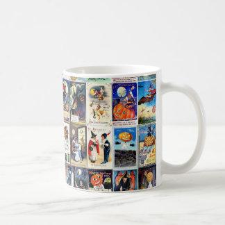 Vintage Halloween Mugs