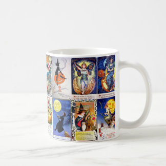 Vintage Halloween Classic White Coffee Mug
