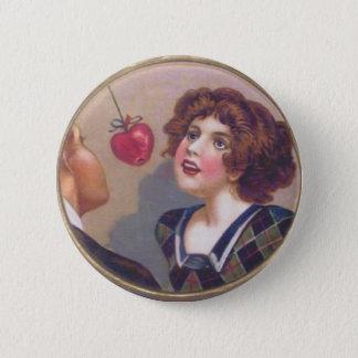 Vintage Halloween Myth Button