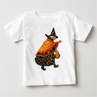 Vintage Halloween Old Witch Tee Shirt