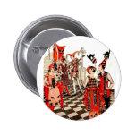 Vintage Halloween Party 2 Inch Round Button
