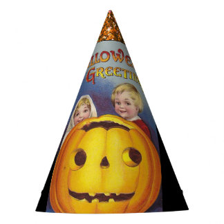 Vintage Halloween Party Hat
