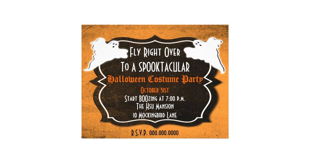 Vintage Halloween Party or Sales Flyer   Zazzle.com