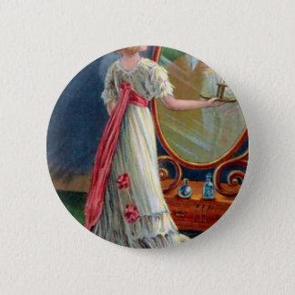 Vintage Halloween Pinback Button