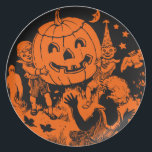 "Vintage Halloween Plate<br><div class=""desc"">Fantastic 1920s Halloween design!</div>"