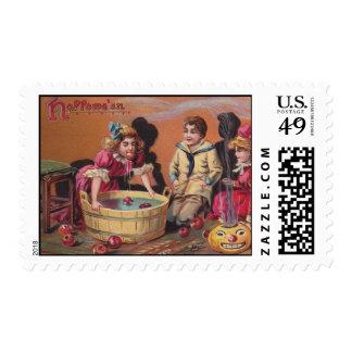 Vintage Halloween - Postage Stamps