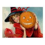 Vintage Halloween Postal